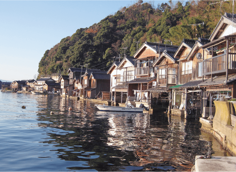 Ine Fishing Village and Boat Houses