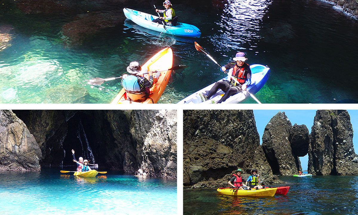 Sea kayaking with Mother Earth Adventure Tours