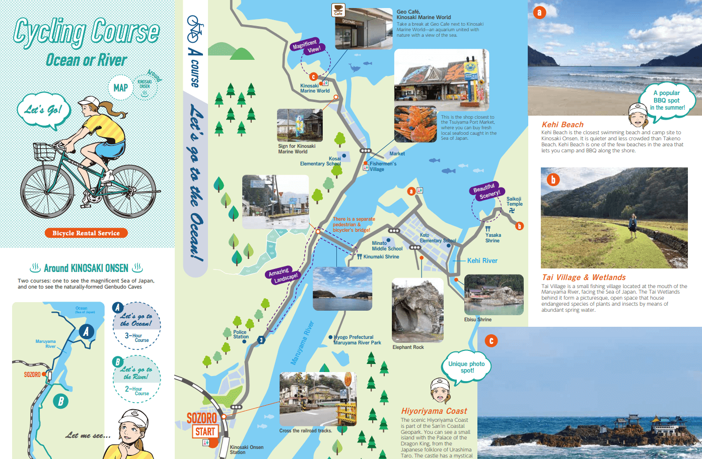 Self-guided cycle tours